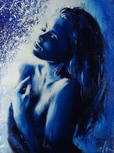 Original; Ewa Switala – Blue – 2016