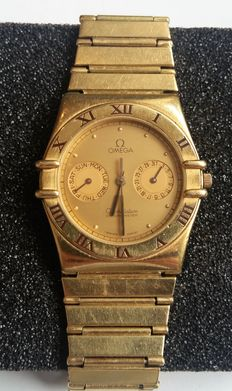 Gold Omega Constellation watch model 1444 from 1986
