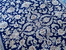 Original Persian QOM - wool approx. 337 x 235 cm - with certificate of authenticity