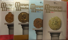 The Netherlands - Holland Coin Fair sets 2010/2013 'Museum Coin Treasures I t/m IV' (4 different) complete