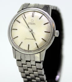 Omega Seamaster - Vintage Automatic Stainless Steel Swiss Made Wristwatch, 1960's