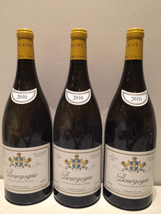 2010 Domaine Leflaive Bourgogne Blanc, Burgundy - 3 magnums (150cl)