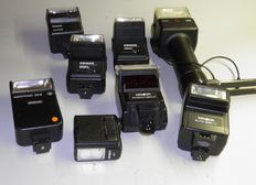 Lot of 8 electron flashes