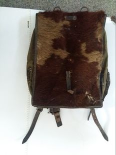 Original German Marked Backpack WWII Tornister MAX MULLER NURNBERG 1943