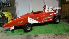 Kids King - Formula 1 car for children with 125 cc four-stroke engine - kart base - approx. 300 x 100 cm - (2005)