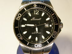 bonett men's 200 meter diver with date  model 800