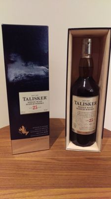 Talisker 25 years old - bottled 2013 - OB