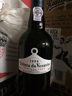 1998 Vintage Port Quinta do Vesuvio - 3 flessen