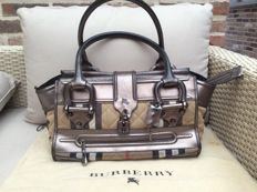 Burberry House Check Quilted Canvas Large Manor Bag