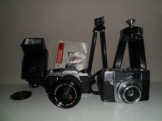 Pentax ME Super + Agfa 1a and more......