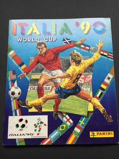 Panini - Italia 1990 Worldcup - Dutch Edition - complete album.