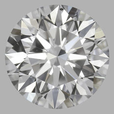 0.50 ct Round Brilliant Diamond D VS1 GIA Serial# 1287-original image 10X