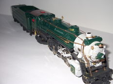 Franklin Mint H0 – steam locomotive 4-6-2 of the Southern Crescent Limited