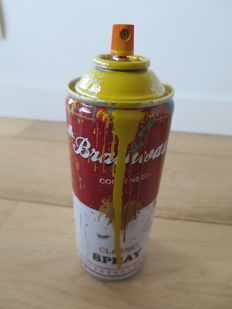 Mr Brainwash - Spray Can (Yellow)