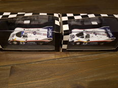 Minichamps  - Scale 1/43 - lot with 2 models: Porsche 956 K Rotmans Nurburgring 1983 and 1984