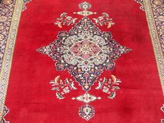Unique Persian Iran Kaschan handknotted 186x270 cm
