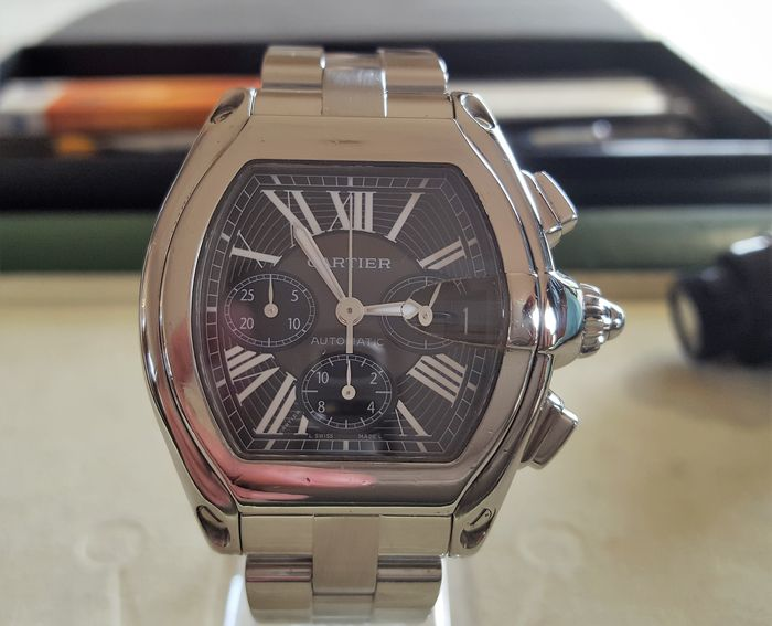 Cartier Roadster XL chronograph - men's watch - 2013.