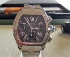 Cartier Roadster XL chronograph.-Montre bracelet homme - 2013