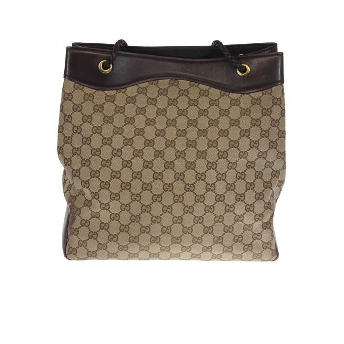 ba4e132704e6 Gucci GG Monogram shoulder bag - Catawiki