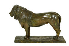 After Rembrandt Bugatti (1884-1916) - bronze sculpture titled 'Lion de Nubie' - France - first half of 20th century