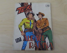 Giant Tex album # 44 / rare original version (1964), stapled