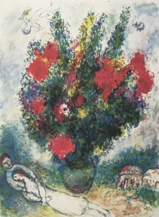 Marc Chagall (after) - Cycle of Daphne and Chloe
