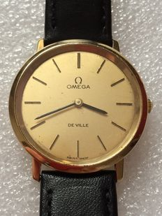 Omega De Ville Mechanical 18k Gold Men's Wristwatch