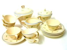 Gien -  tea set - 17 pieces