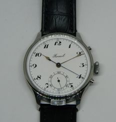 Rocail Stopwatch with Minute Repetition - Unique Wristwatch