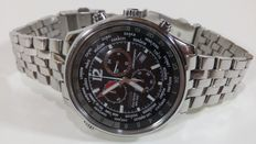 Citizen Eco Drive GMT World Time Chronograph - Gent's Watch