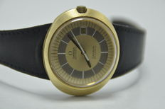 Omega Geneve Dynamic 2 Tone Dial Automatic 565 Calibre Gold Plated