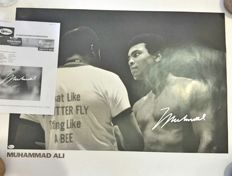 Muhammad Ali (RIP) - Hand-signed poster - With certificate of authenticity