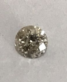 0.32ct Round brilliant -cut diamond Natural I SI3 +++NOT RESERVE+++