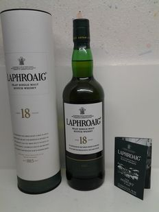 Laphroaig - Islay Single Malt Whisky - 18 years old
