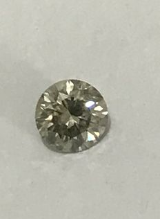 0.70ct Round brilliant -cut diamond natural H SI1