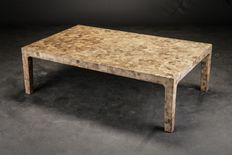 Unknown designer - Italian design coffee table in Terazzo pattern