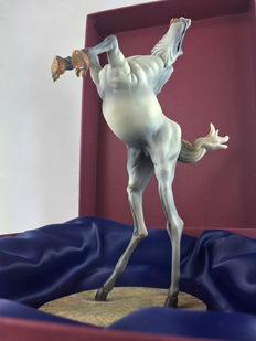 """Salvador Dalí"" - Exclusive representation of the horse of ""The Temptation of St. Anthony"" - 2002, Netherlands"