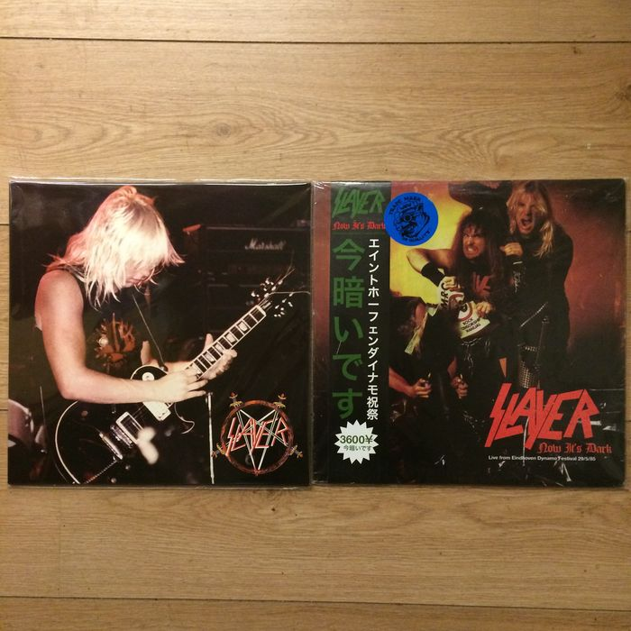 Slayer LP Collection | Coloured vinyl | Limited edition | Mint condition