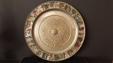 Dish of Mexican origin with representation of the Mayan civilization - 20 th Century
