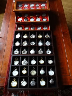 Pocket watch collection of 62 different pocket watches