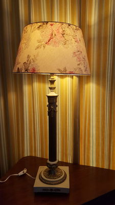 French Style Candlestick Table Lamp