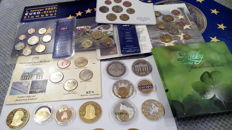 Europe – Sets and coins Euro and pre-Euro