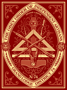 Shepard Fairey (OBEY) - Artisan Red