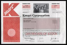 USA (Michigan) - Kmart Corporation - American Department Store