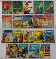 Lot with 19 Tex Willer edition - 1975/1980