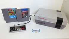 Nintendo NES incl controller, Gremlins 2 & The Simpsons: Bart vs. The Space Mutants