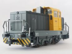 Märklin H0 - From set 29181 -Henschel DHG 700 Diesel shunting locomotive set with a rotating lamp of the NS