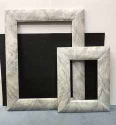 A Pair of Marmor Frames  in  Wood