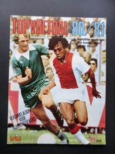 Variant of Panini - VanderHout - Top Voetbal 80/81 - Complete album - in mint condition.