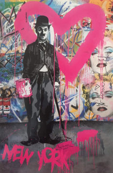Mr Brainwash - Max Spray - Charlie Chaplin New York